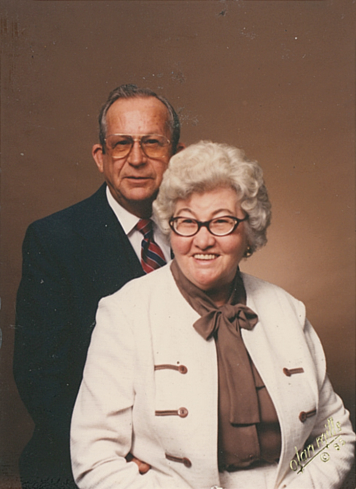 Dale Turner's parents Atrell Beatrice (Thornell) and Jimmie Johnson Turner'