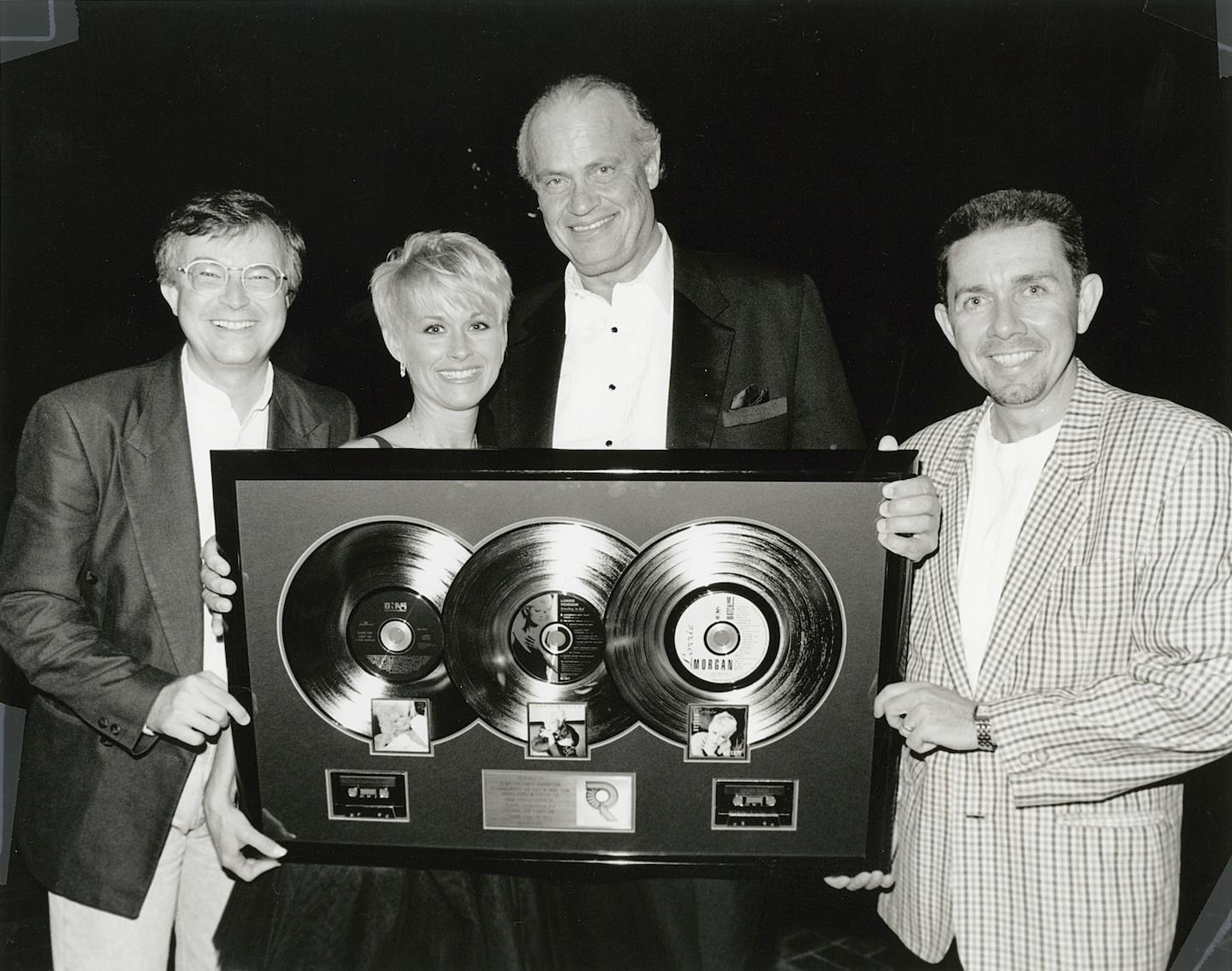 A celebration for Lorrie Morgan with Dale Turner, Joe Galante, and Senator Fred Thompson