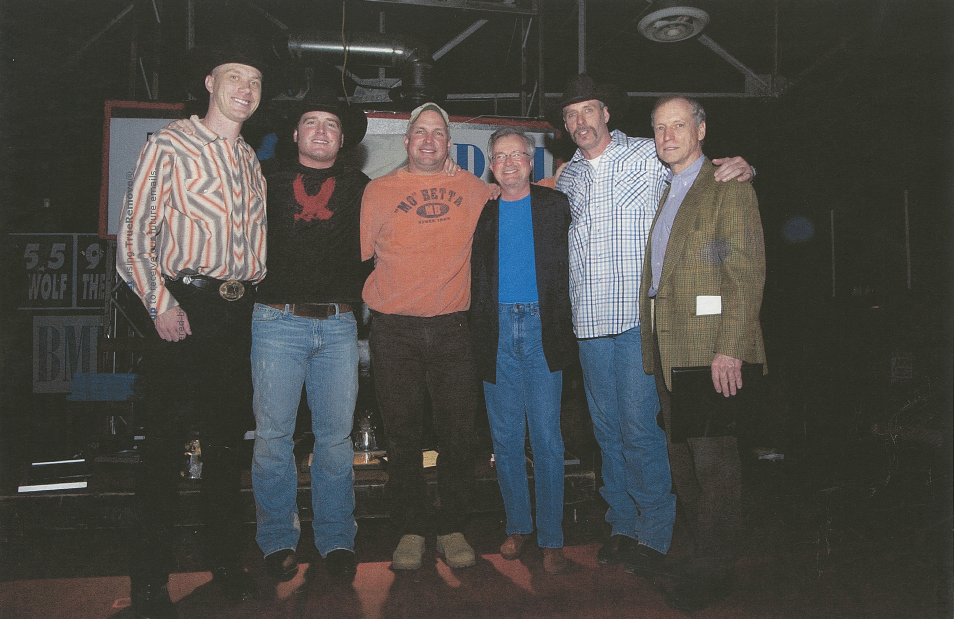 A number one party for Good Ride Cowboy with Garth Brooks, Bob Doyle, and the songwriters and publisher.